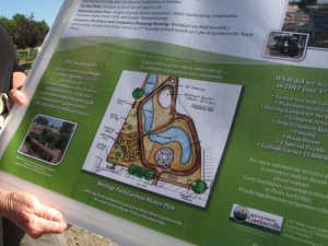 The Heritage Park Gardens master plan.
