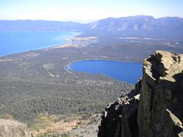 Photo by Kevin Morton. The view from Mt. Tallac