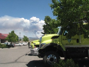 The Bison Fire is expected to be contained by Monday.