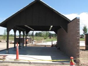 Entrance to the Carson Valley Inn outdoor events center.
