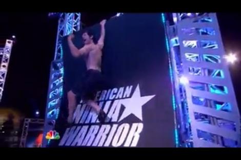 Photos courtesy of Noah Kaufman Screen shots of Valley ER doctor Noah Kaufman's appearance on American Ninja Warrior.