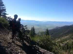 Photo by Chris Dickerson Chris Dickerson took this picture while out mountain biking the Sierra Canyon Trail off Genoa Peak Saturday Morning.