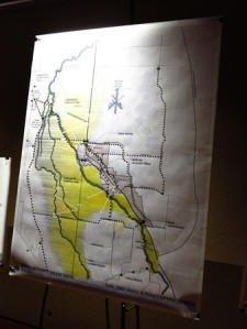 Traffic routes and trail access are key parts of the developing Valley Vision plan.