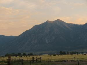 Kat Simmons took this picture of the Carson Range recently and submitted it to the Carson Valley Times.
