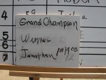 Grand Champion Jonathan