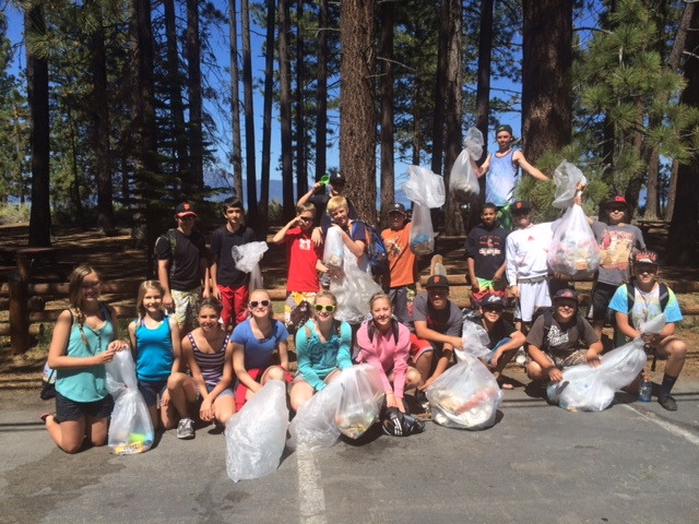 Photo courtesy of Douglas County Sheriff's Office The beach cleanup