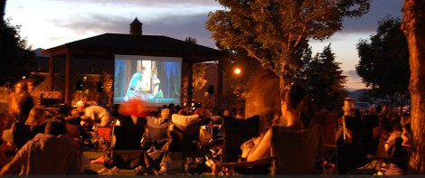 Photo courtesy of the Town of Gardnerville The summer Movies in the Park series has become a popular Carson Valley tradition over the last several year.