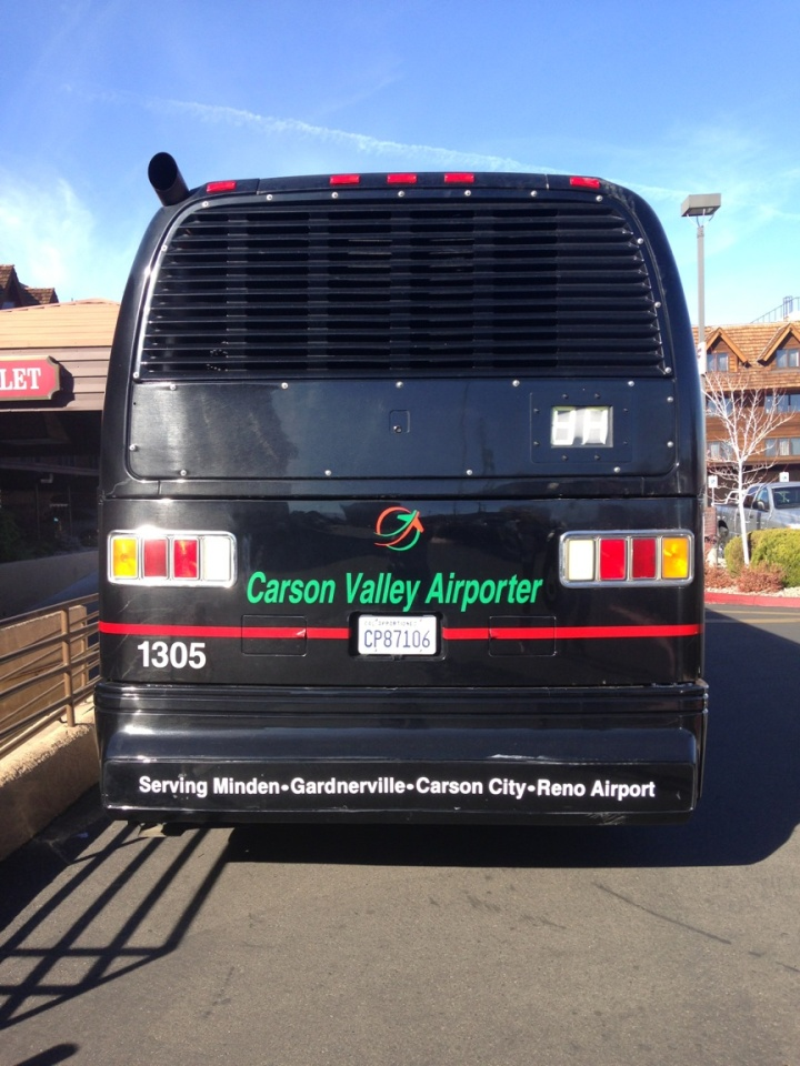 Shuttle Service from Carson Valley to the Reno Tahoe International Airport is set to start Nov. 17.