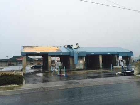 Photo by Larry Baty, the car wash in the Ranchos
