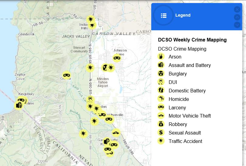 Douglas County Map on